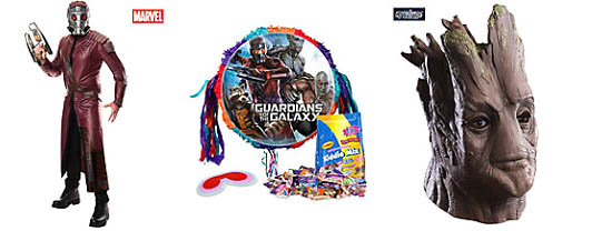 Guardians of the Galaxy Costumes and Party Supplies