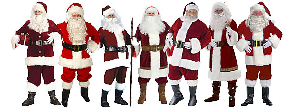 Santa Costumes from Wholesale Halloween Costumes