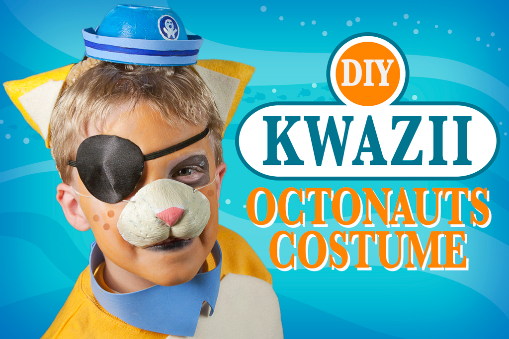 DIY Kwazii Costume