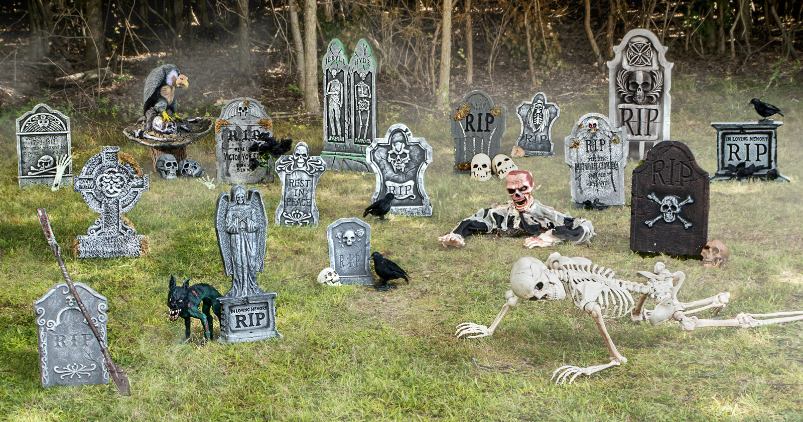 How To Turn Your Yard Into a Graveyard