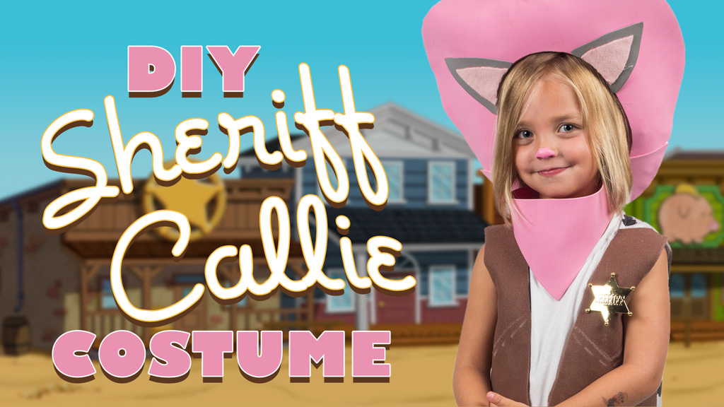 DIY Sheriff Callie Costume