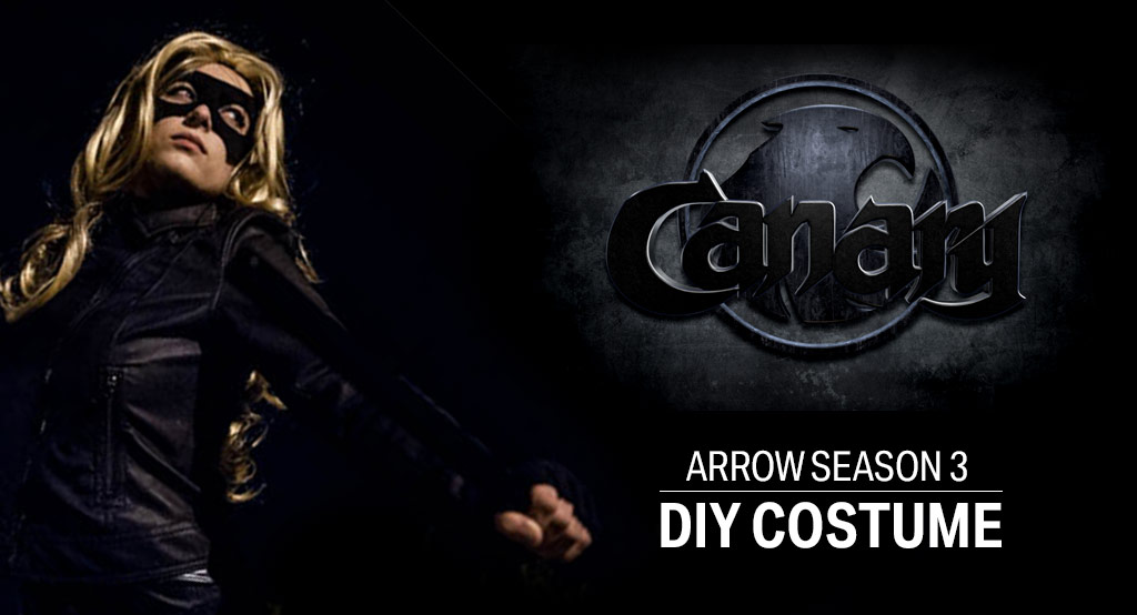 DIY Arrow Black Canary Costume