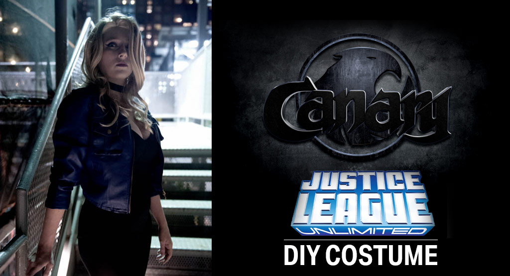 DIY Justice League Black Canary Costume