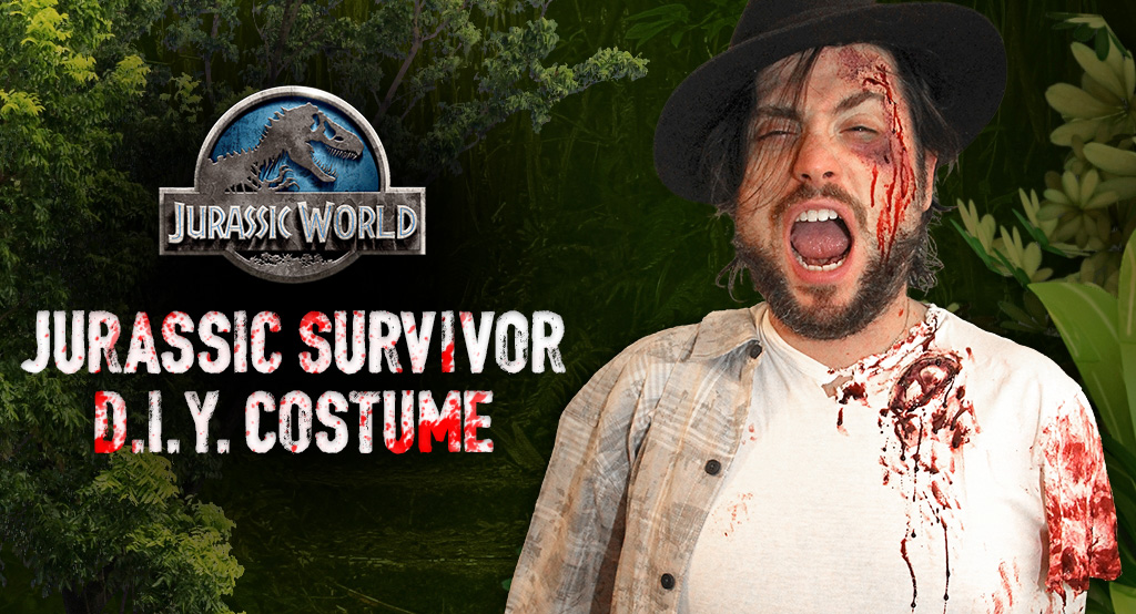 DIY Jurassic Park Survivor Costume