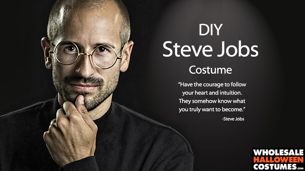 DIY Steve Jobs Costume