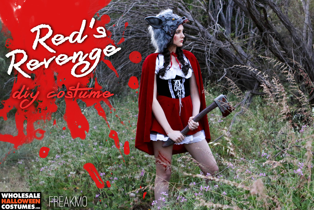 Red Riding Hood DIY Costume