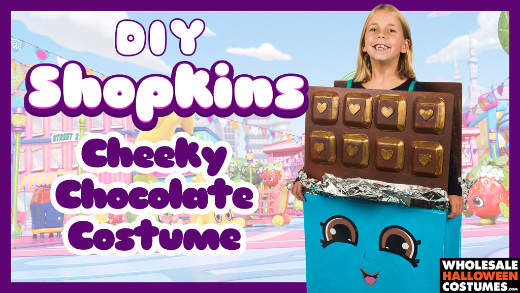 DIY Cheeky Chocolate Costume