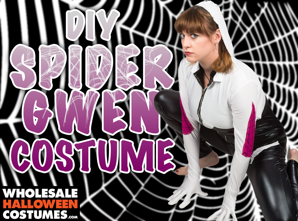 DIY Spider Gwen Costume