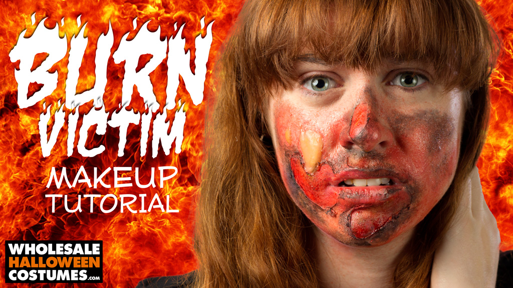 Burn Victim Makeup Tutorial
