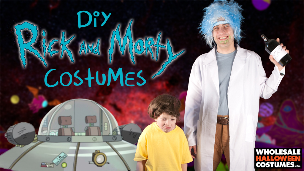 DIY Rick & Morty Costumes