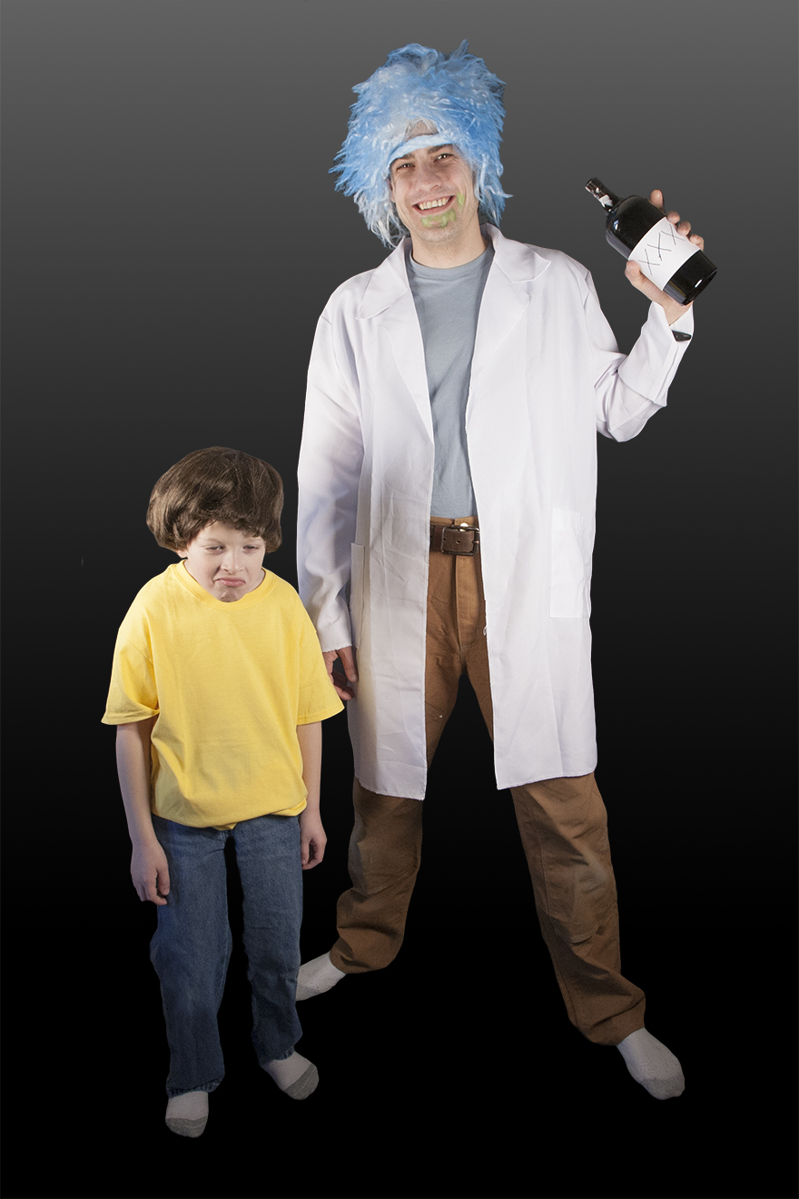 DIY Rick and Morty Costumes