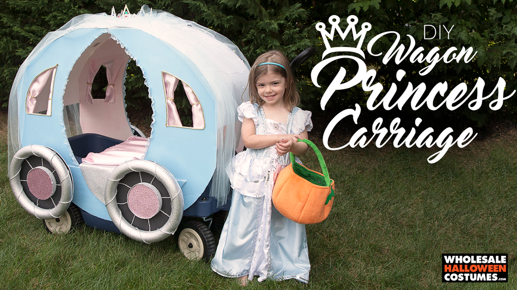 DIY Princess Carriage Wagon Upgrade