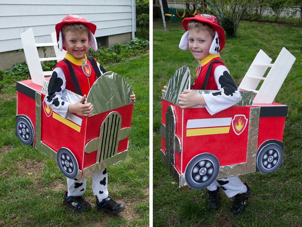 DIY Paw Patrol Firetruck Final Look