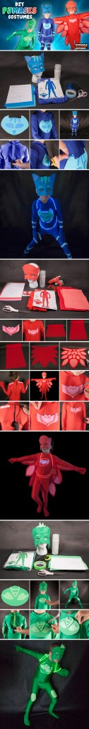 PJ Masks Costume Pinterest Guide