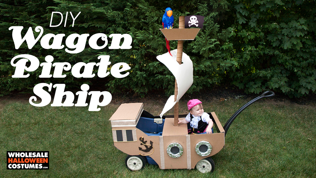 DIY Pirate Ship Wagon Upgrade