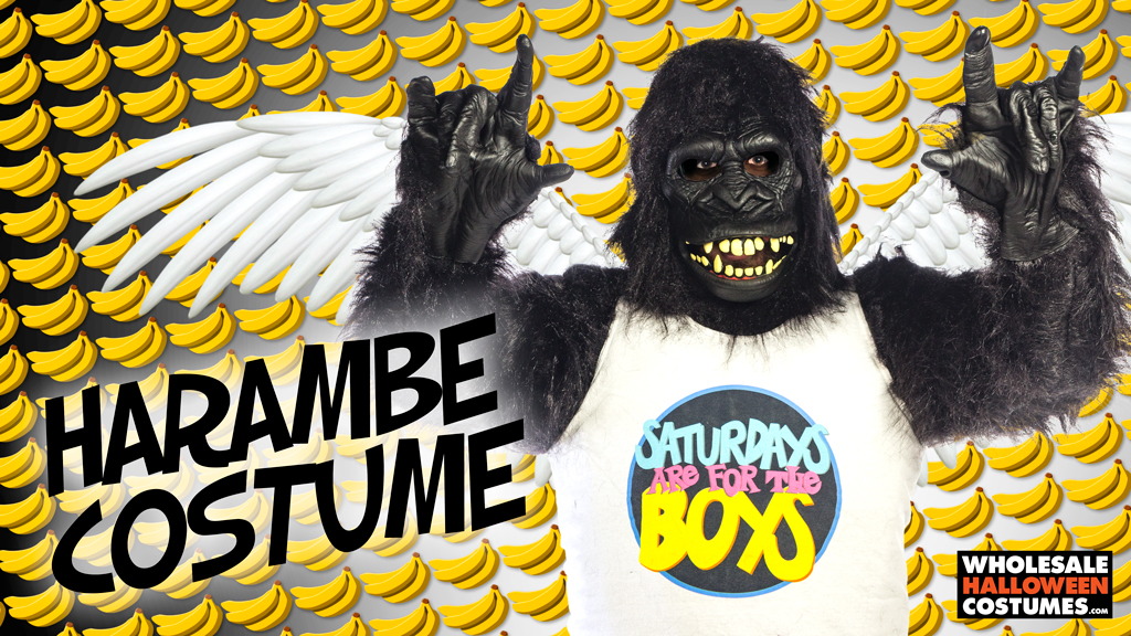 DIY Harambe Costume
