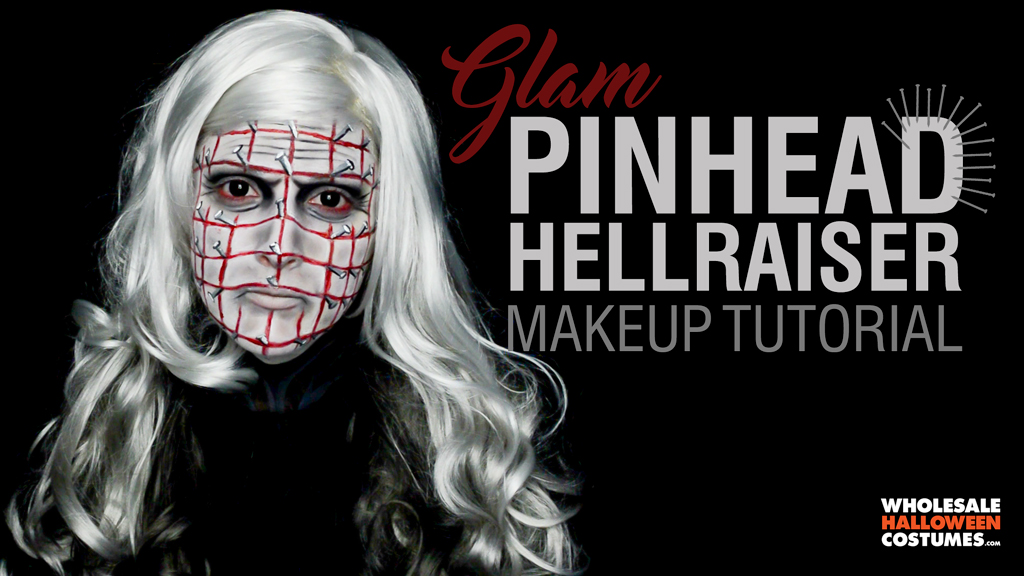Pinhead Makeup Tutorial