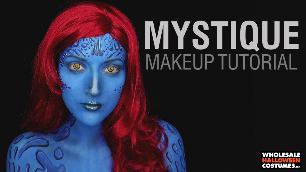 Mystique Makeup Tutorial