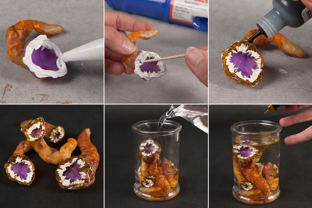 Creepy Halloween Specimen Jars DIY Tutorial Step 3