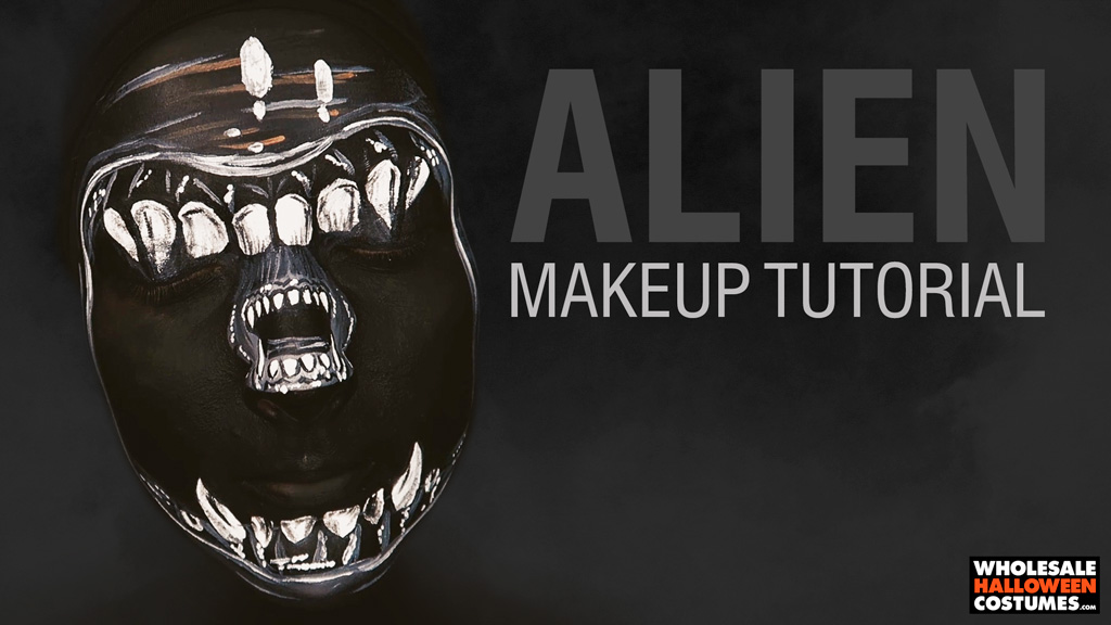 Xenomorph Alien Makeup Tutorial