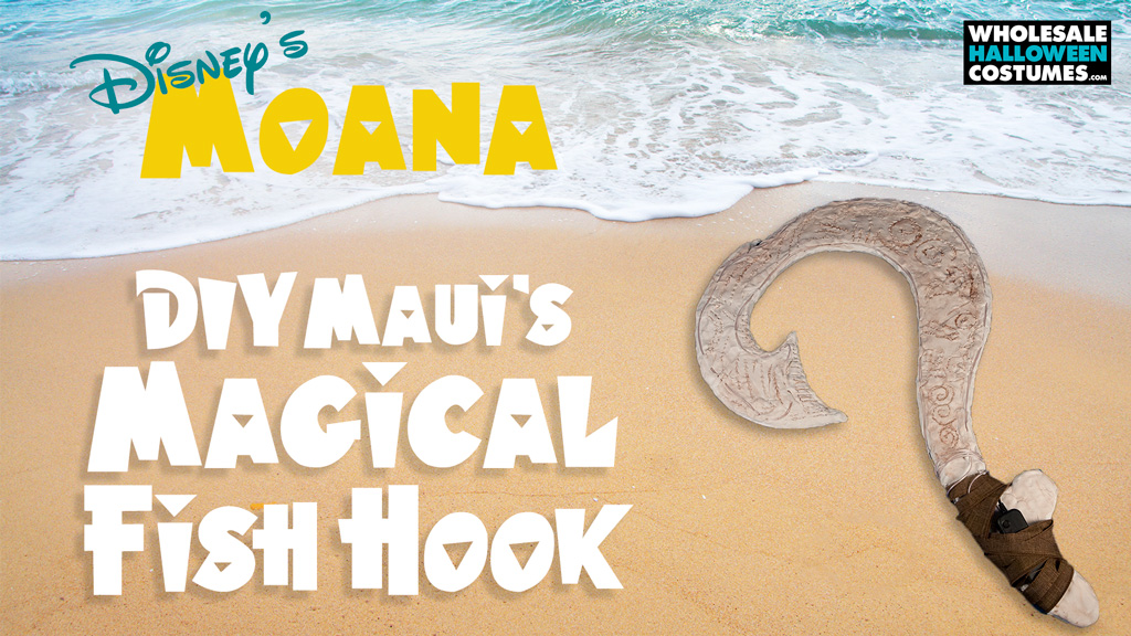 DIY Maui's Magical Hook DIY