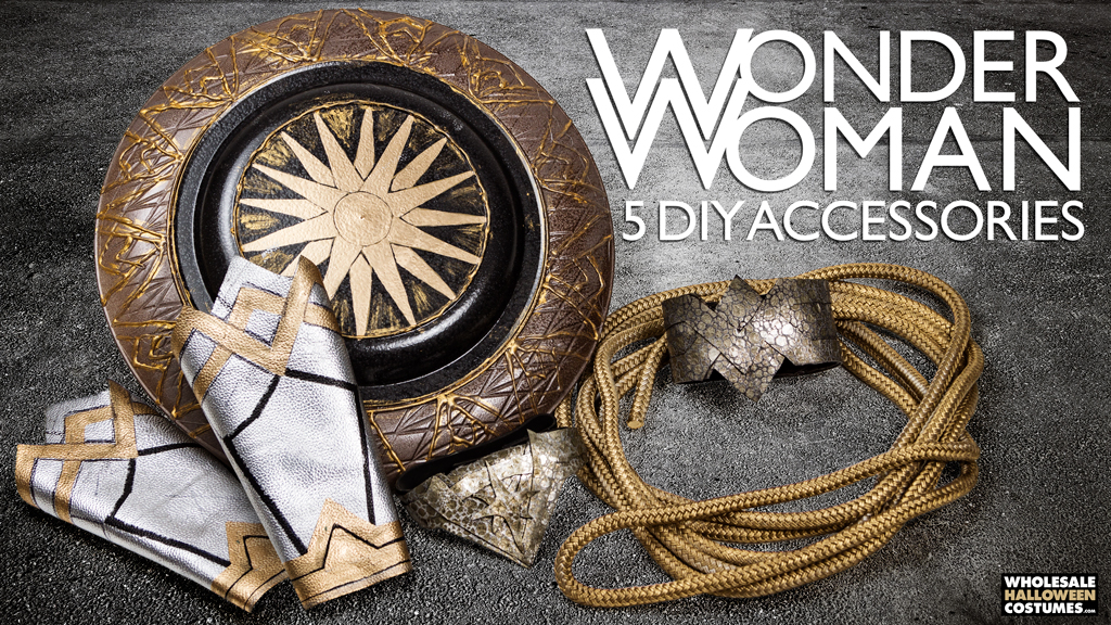 DIY Wonder Woman Costume Accessories