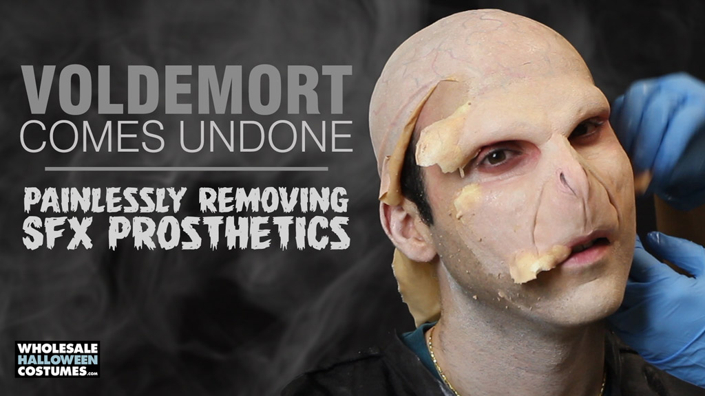 Painlessly Removing SFX prosthetics