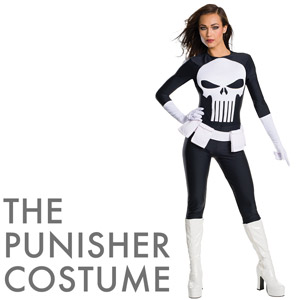 Sexy Punisher Costume