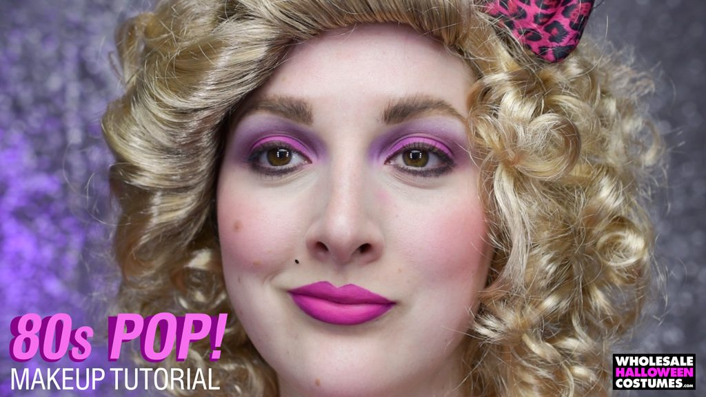 1980s Pop Culture Queen Makeup
