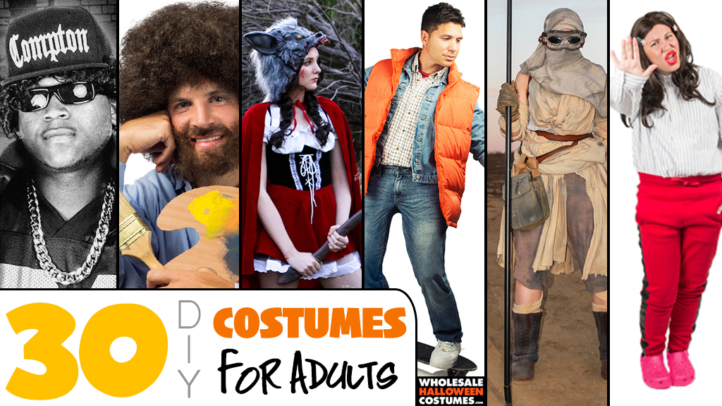30 DIY Halloween Costumes for Adults