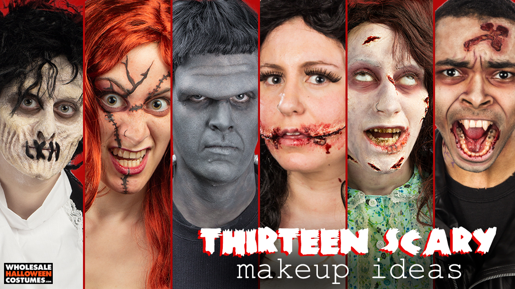 13 Scary Costume Makeup Ideas
