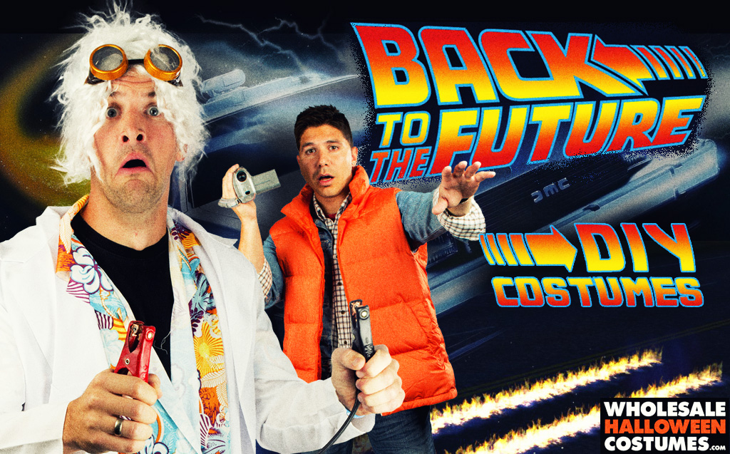 DIY Back to the Future Costumes