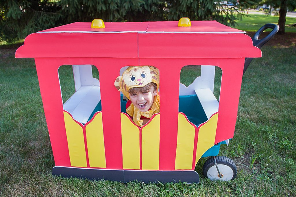DIY Daniel Tiger Trolley Wagon Upgrade