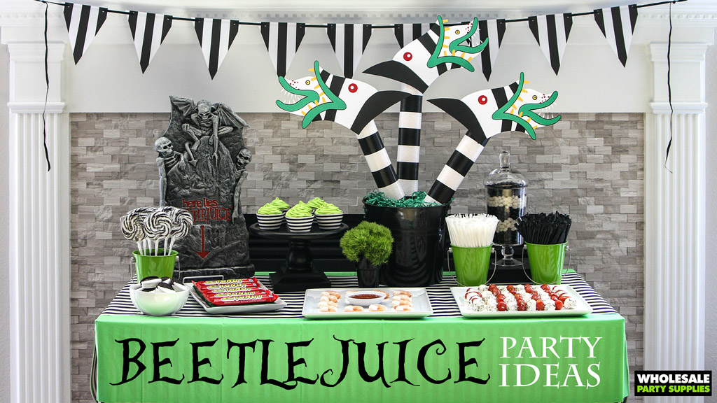 Beetlejuice Party Idea