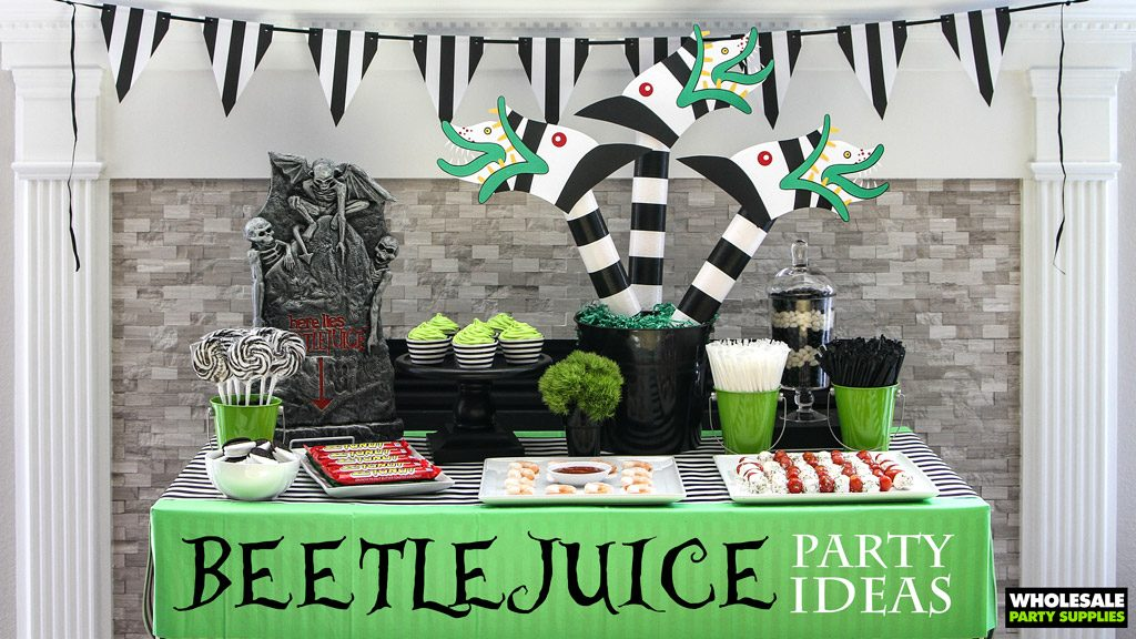 Beetlejuice Party Ideas