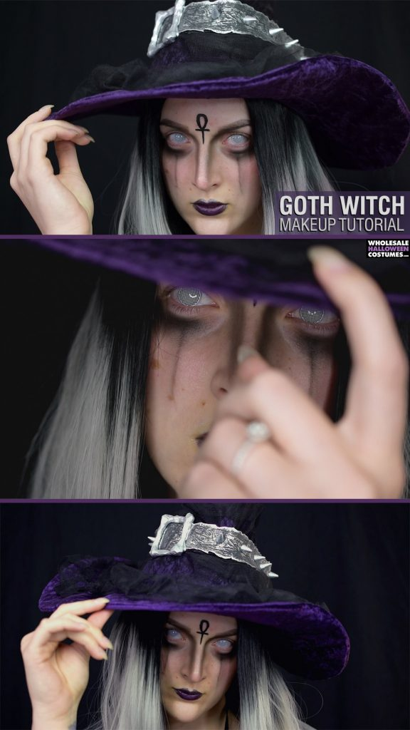 Goth Witch Makeup Tutorial