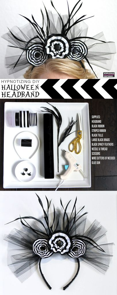 DIY Halloween Headband
