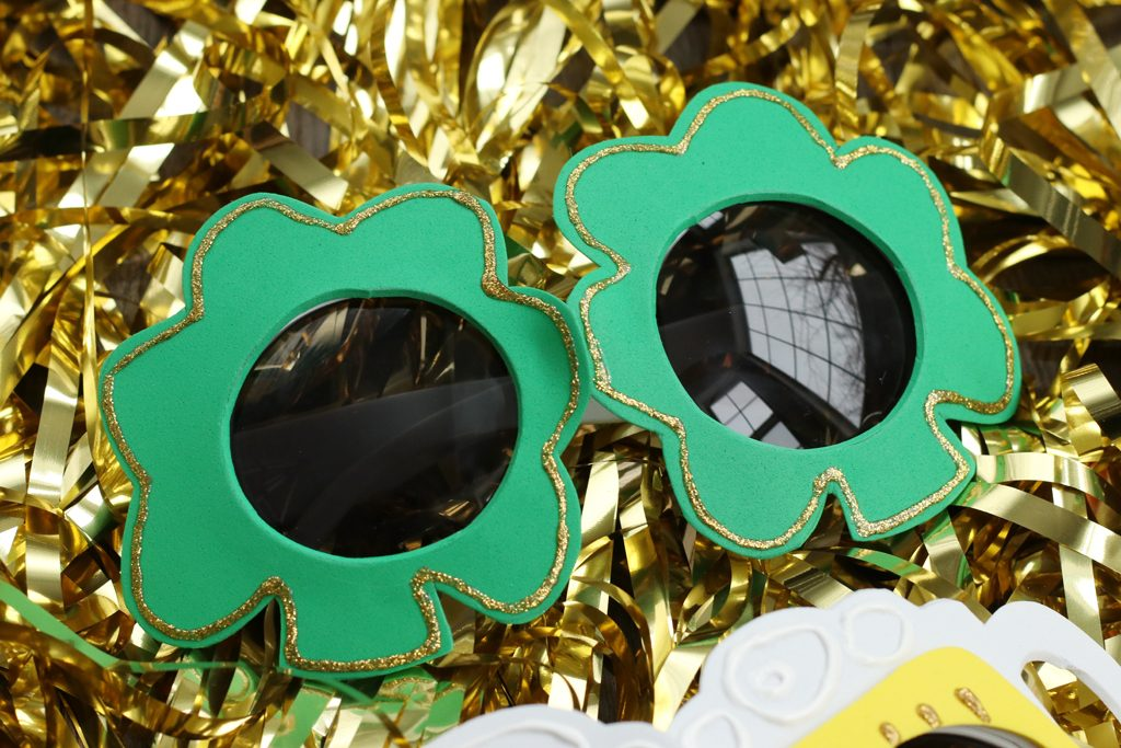 St. Patrick's Day Sunglasses Upgrade - Four Lucky Looks