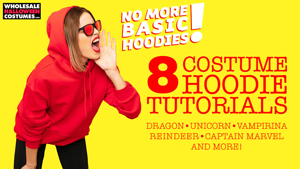 8 DIY Costume Hoodies Tutorials From Our Blog