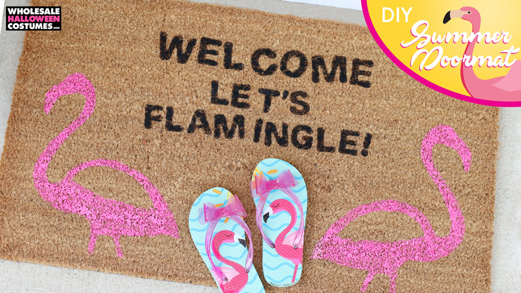 DIY Custom Summer Doormat
