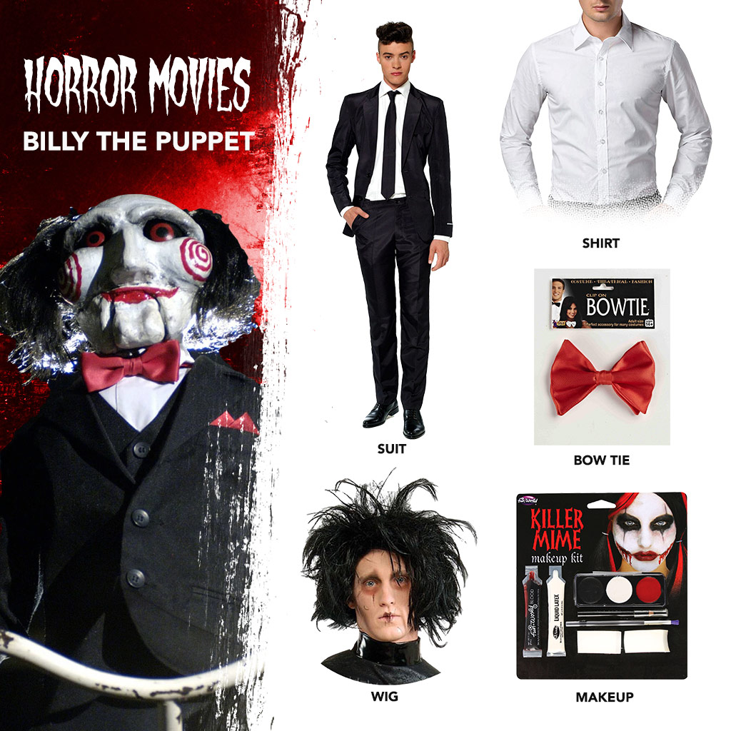 DIY Billy the Puppet Costume