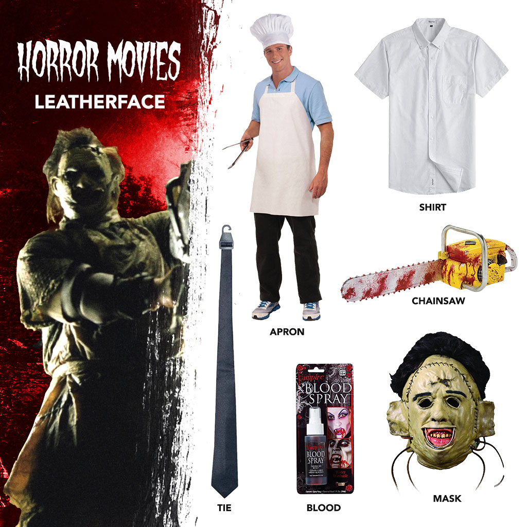 DIY Leatherface Costume
