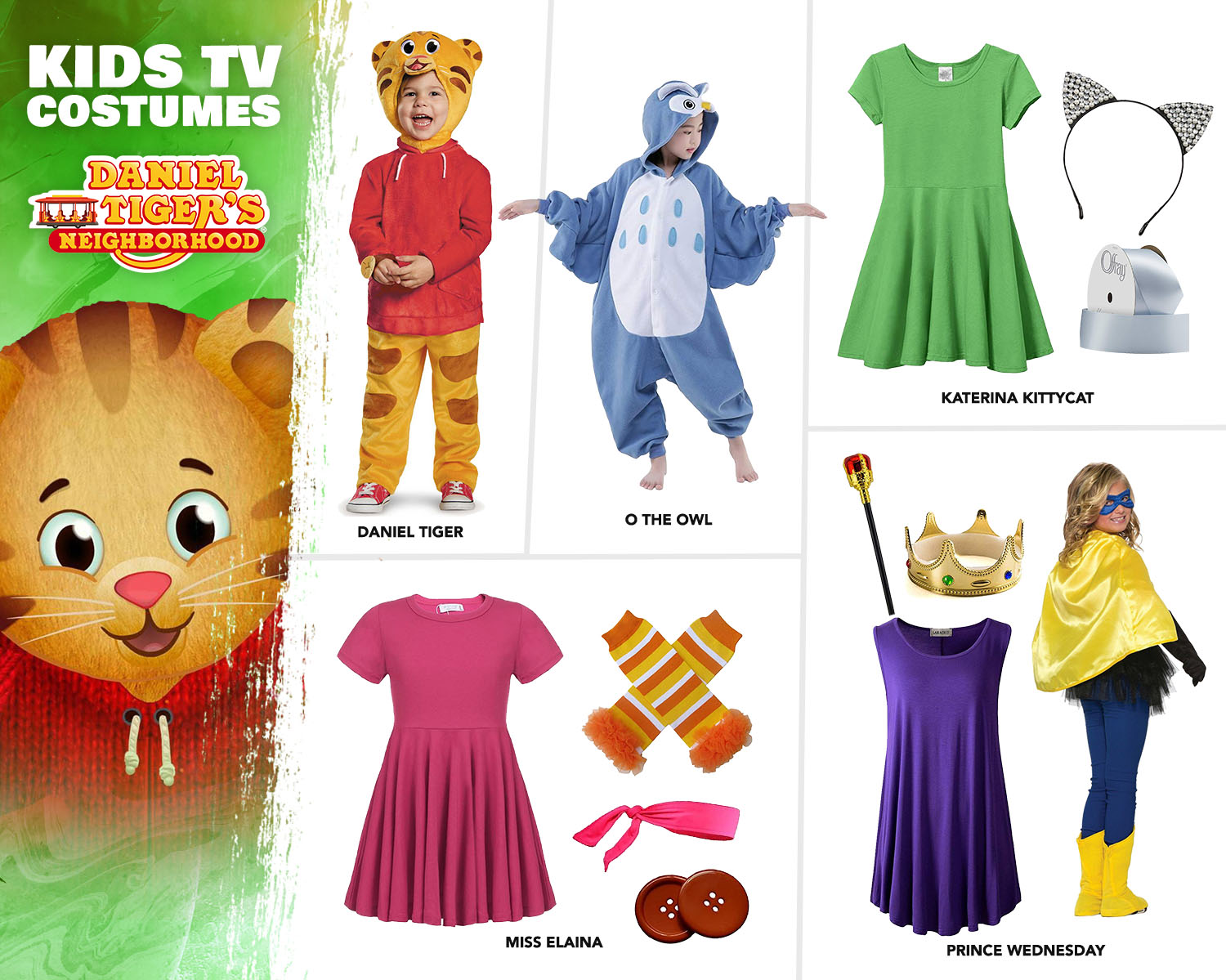 Daniel Tiger Costume Ideas