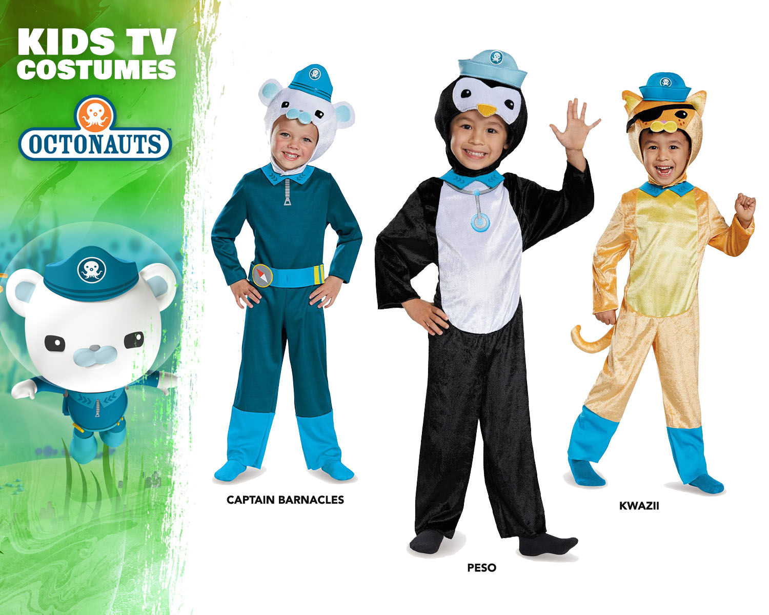 Octonauts Costume Ideas