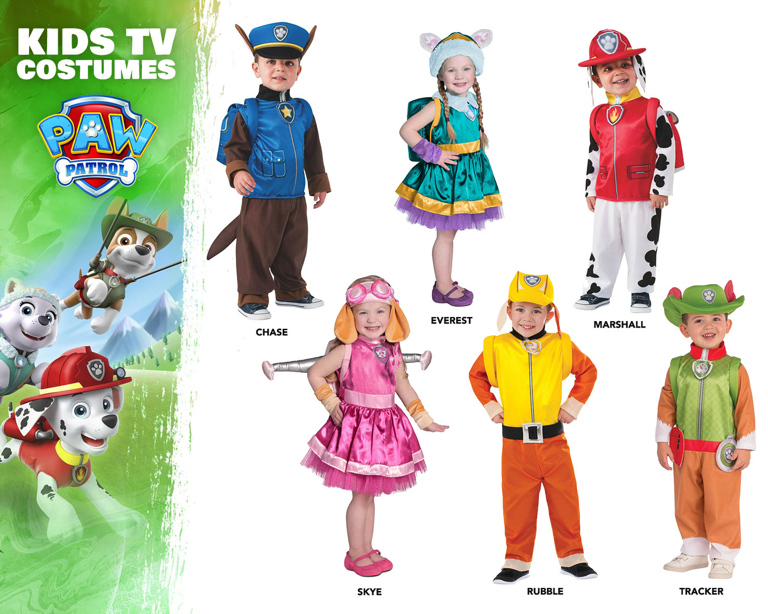 PAW Patrol Costume Ideas