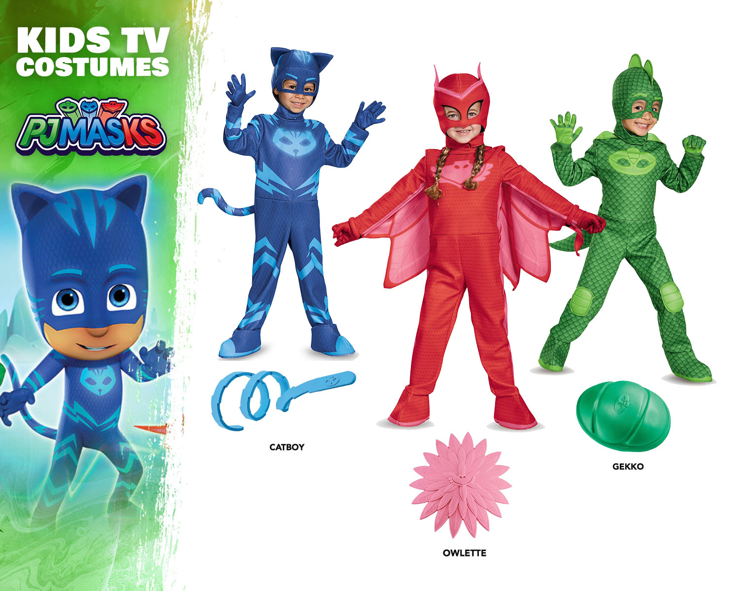 PJ Masks Costume Ideas
