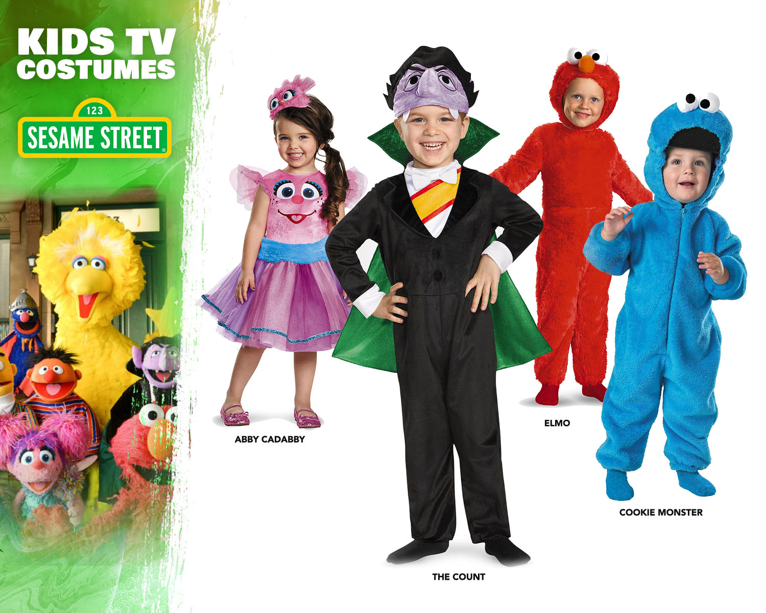 Sesame Street Costume Ideas