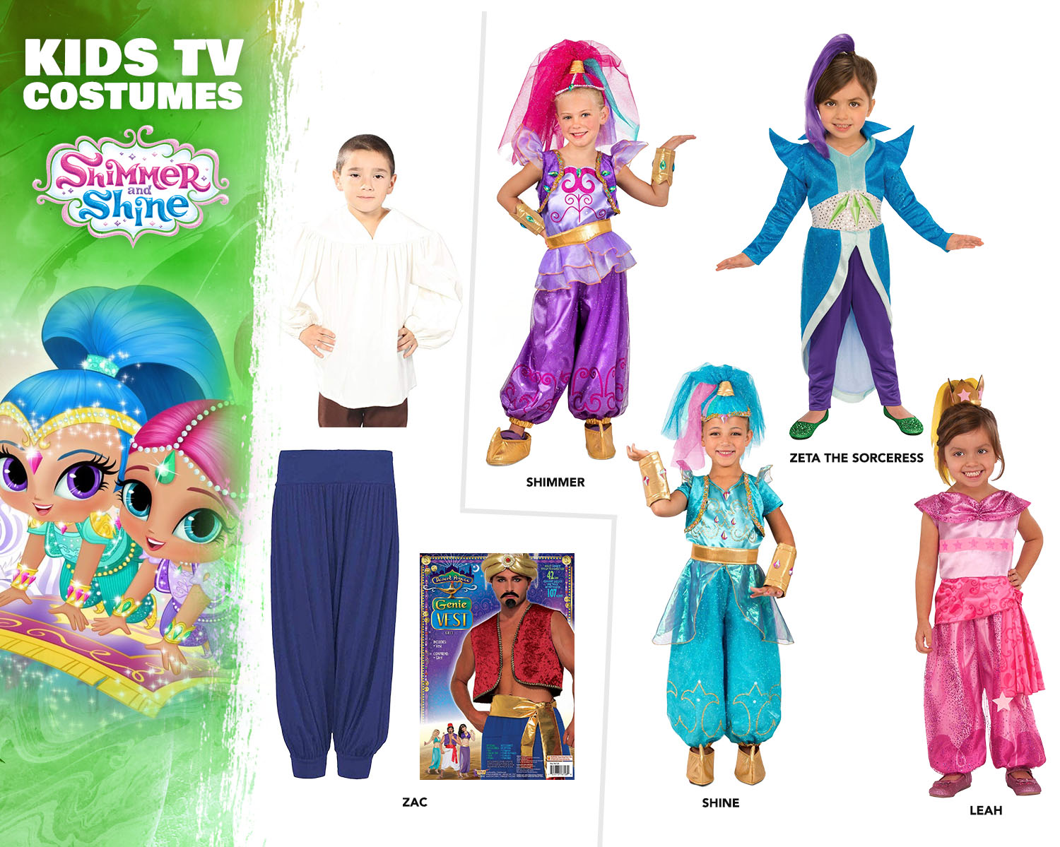 Shimmer & Shine Costume Ideas