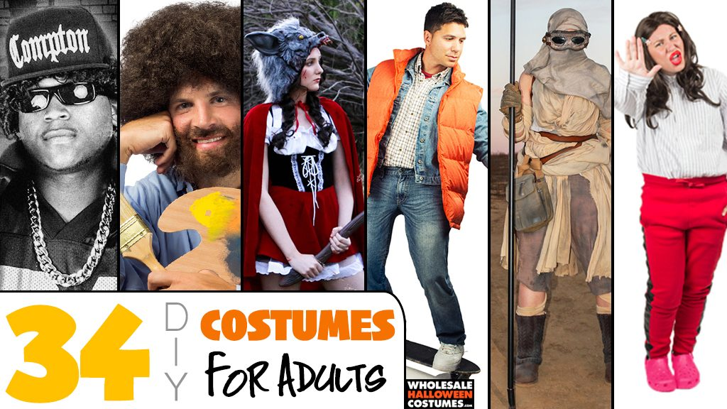 Best Adult DIY Costumes for Halloween From Our Blog
