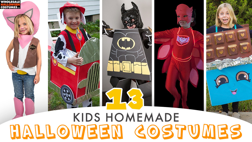 Best Kids DIY Costumes for Halloween From Our Blog
